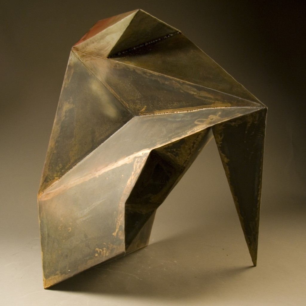 Chunk Mild Steel 30 x 25 x 26 inches 2010